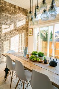 home improvement and why home improvement matters - bright, updated dining room with table